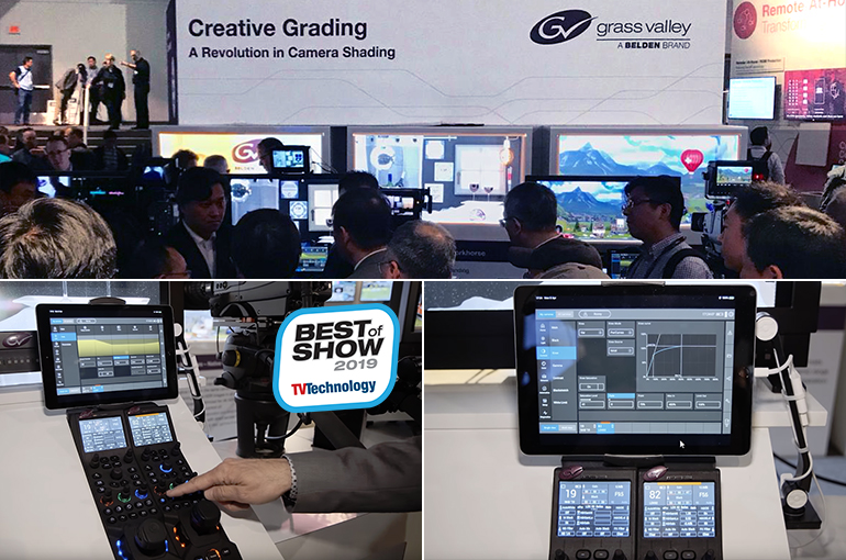 Grass Valley introduceert Creative Grading